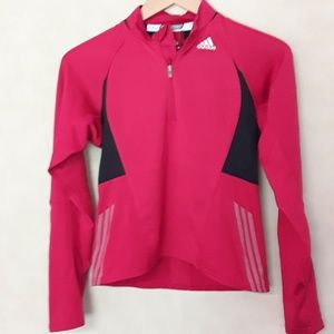 Adidas Response Red Workout Pullover Size Small